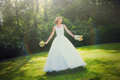 Svatební fotografie - léto