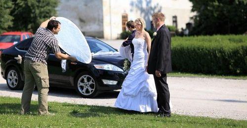 Jak probíhá svatební focení